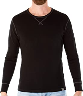 MERIWOOL Mens Base Layer 100% Merino Wool Heavyweight 400g Thermal Shirt for Men