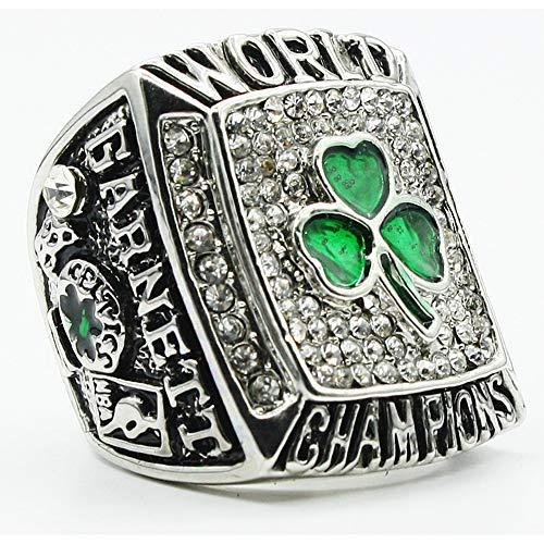 LGFB NBA per 2008 Boston Celtics campionato anello replica 11 full size Fan souvenir basket movimento Anello con scatola di legno