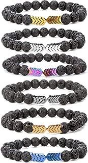 Best lava rock stone bracelet Reviews