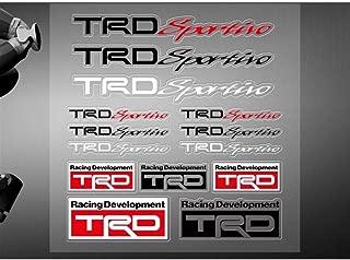 FidgetGear Car Sticker TRD Sportivo Logo Vinyl Decal for Toyota