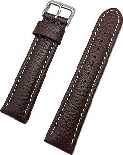 buffalo leather watch strap