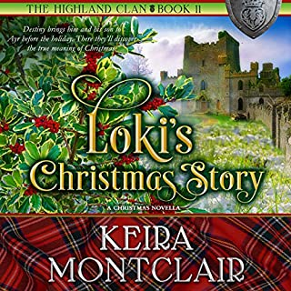 Loki's Christmas Story audiobook cover art