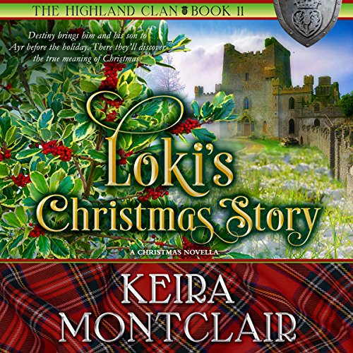 Loki's Christmas Story audiobook cover art
