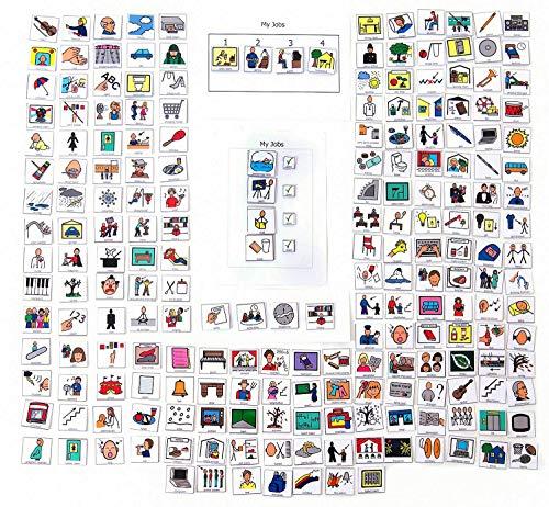Successful Interactions 200+PECS cards,Boardmaker, Visual aid, Shedule, Autism, School