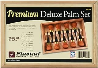 Flexcut 9 Piece Premium Deluxe Palm Set (FRP405)