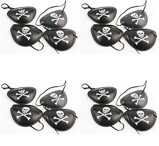 Kentop Lot DE 10 Masques de Sommeil r/églables pour Les Yeux Noir
