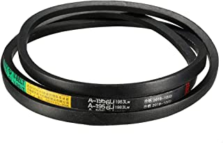 sourcing map C-2286//C90 Drive V-Belt Inner Girth 90-inch Industrial Power Rubber Transmission Belt