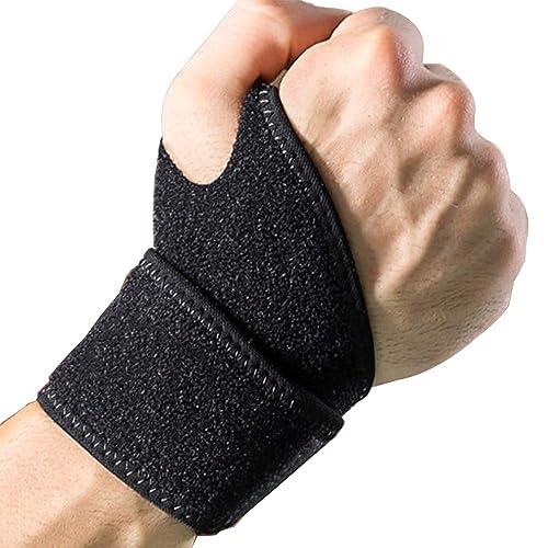 Relieve Wrist Injuries,Arthritis,Sprains Wrist Support Wrap for Men /& Women Stabilize Wrist for Gym Yoga Weight Lifting GROOFOO Wrist Brace