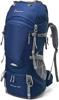 55L/65L Internal Frame Backpack Hiking Backpack with Rain Cover