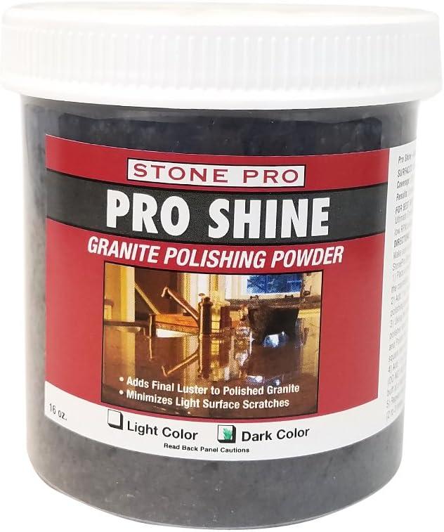 Stone Pro In a popularity Shine - Granite sold out Powder Polishing 1 Pound Dark