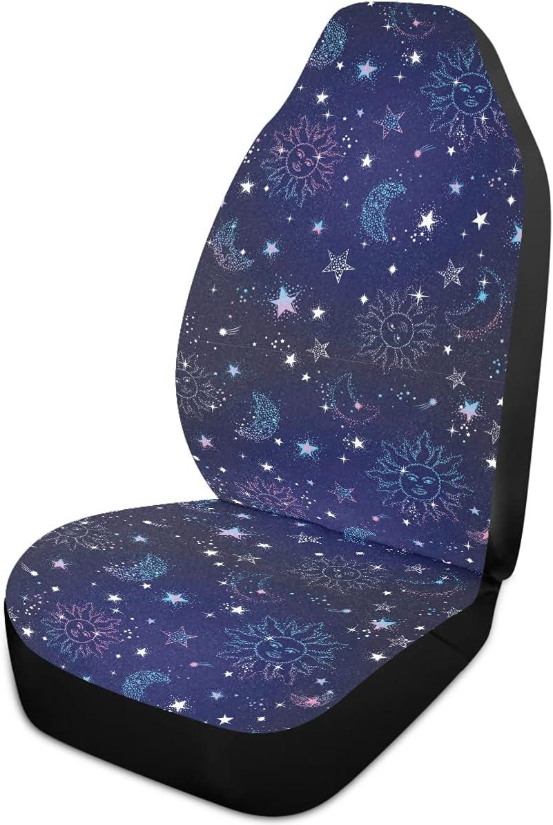 Oarencol Boho Sun Moon Star Galaxy Seat Car Bohemia Covers Space Financial Cash special price sales sale
