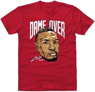 500 LEVEL Damian Lillard Shirt - Portland Basketball Men's Apparel - Damian Lillard Dame Over