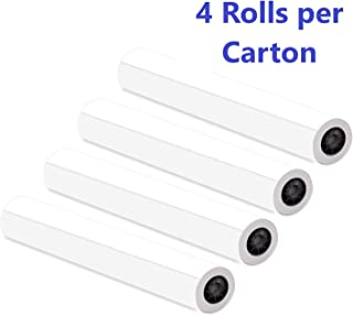 "Alliance CAD Paper Rolls, 36"" x 150', 96 Bright, 20lb – 4 Rolls Per Carton.."