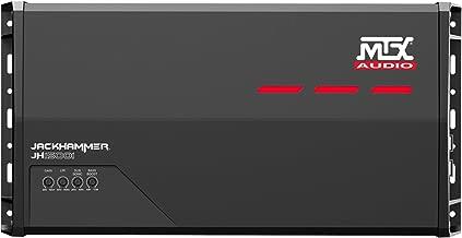 MTX Audio JH15001 Jackhammer Series 1500W Monoblock Class-D Car Audio Amplifier