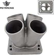 Cast Stainless Steel 41 Turbo Header Manifold Merge Collector T3 T4 With T3 Flange Pqythm014