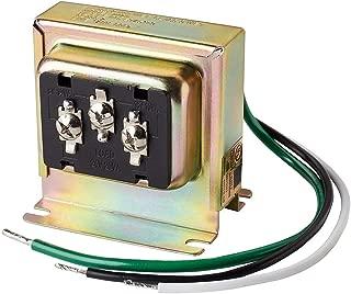 Newhouse Hardware 3TRAN Tri-Volt (8vac/10VA, 16vac/10VA or 24vac/20VA) Transformer for Ring, Nest and Standard Doorbells 1pk