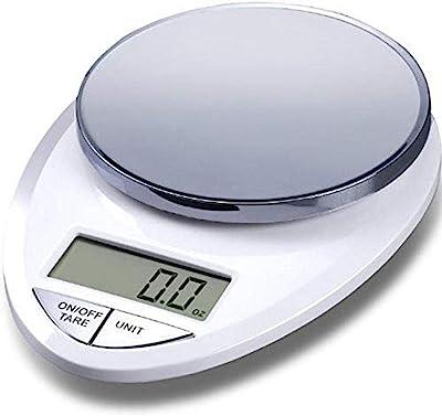 EatSmart ESKS-07 Kitchen Scale, One, White Chrome