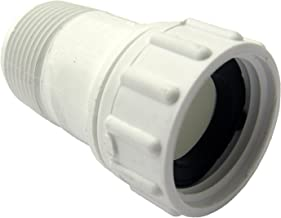 LASCO 15-1627 PVC Swivel Hose Adapter with 3/4-Inch Female Hose and 3/4-Inch Male Pipe Thread