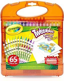 Crayola 繪兒樂 進口學生繪畫文具 25色可擰轉彩色鉛筆禮盒04-5225