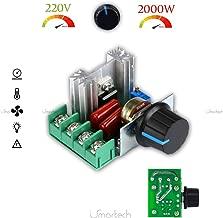 Driver AC 2000W 220V 230V Dimmer regolatore elettronico regolazione regolatore di velocità giri tensione 2KW per motori AC modulo lampade dimmer ventilatore