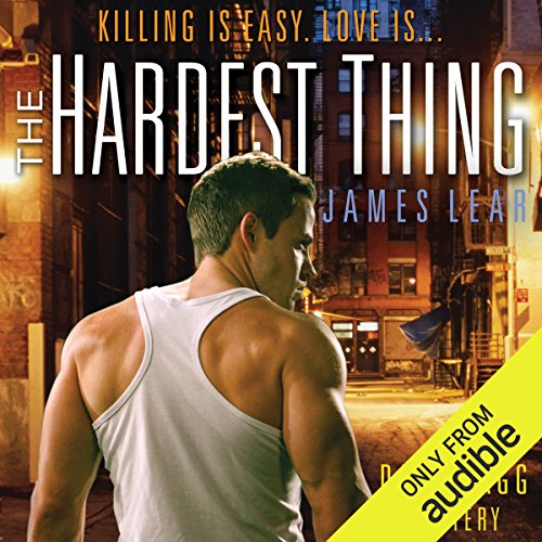 The Hardest Thing audiobook cover art