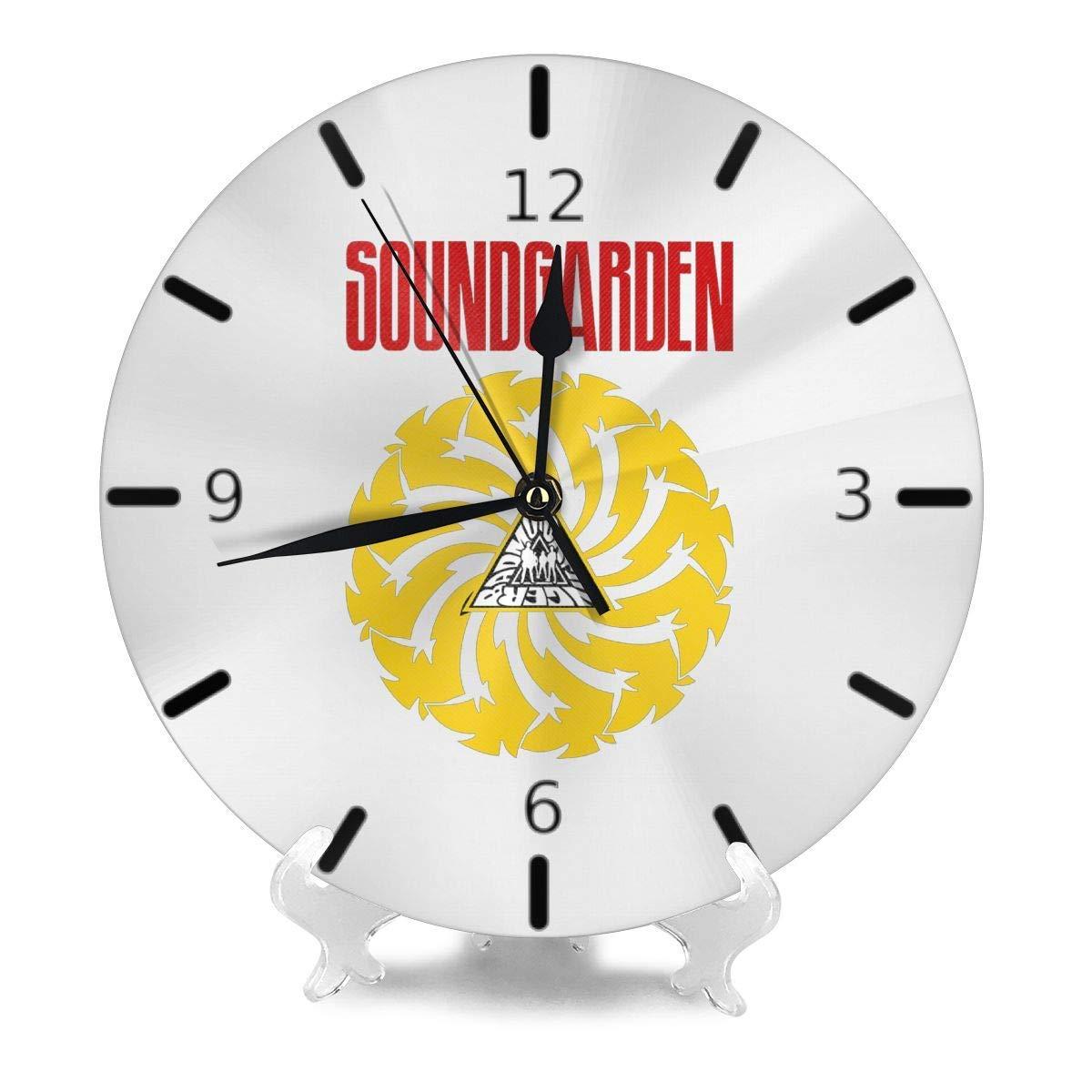 Autocollant mural de l Effet Miroir de Horloge 3D Cristal Circulaire Composite DIY Moderne Cercle Design Rouge TOOGOO R