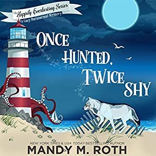 Once Hunted, Twice Shy audiobook cover art
