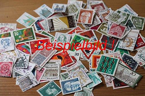 Robbert´s Briefmarken, 50 Stück Sondermarken + 50 Stück Dauerserien, wie gespendet papierfrei, gestempelt
