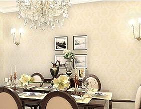 HyFanStr Frise Murale Adhesive 3D Amovibles Fleur Pink Bordure De Papier pour Chambre Cuisine Salon 500X10cm