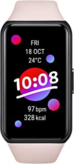HONOR Band 6 Smart Wristband 1st Full Screen 1.47 inches AMOLED Color Touch Screen SpO2 Swimming Heart Rate Sleep Nap Stre...