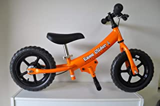 EZee Glider Kids Balance Bike Cro-Moly with Patented Slow Speed Geometry (20 Inch Max Handlebar Height)