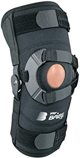 Breg PTO Soft Knee Brace, Airmesh with Open Back (All Sizes) (Right Knee, Medium)