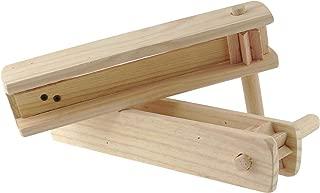 2 Large Wooden Matraca Noisemaker - Two 11