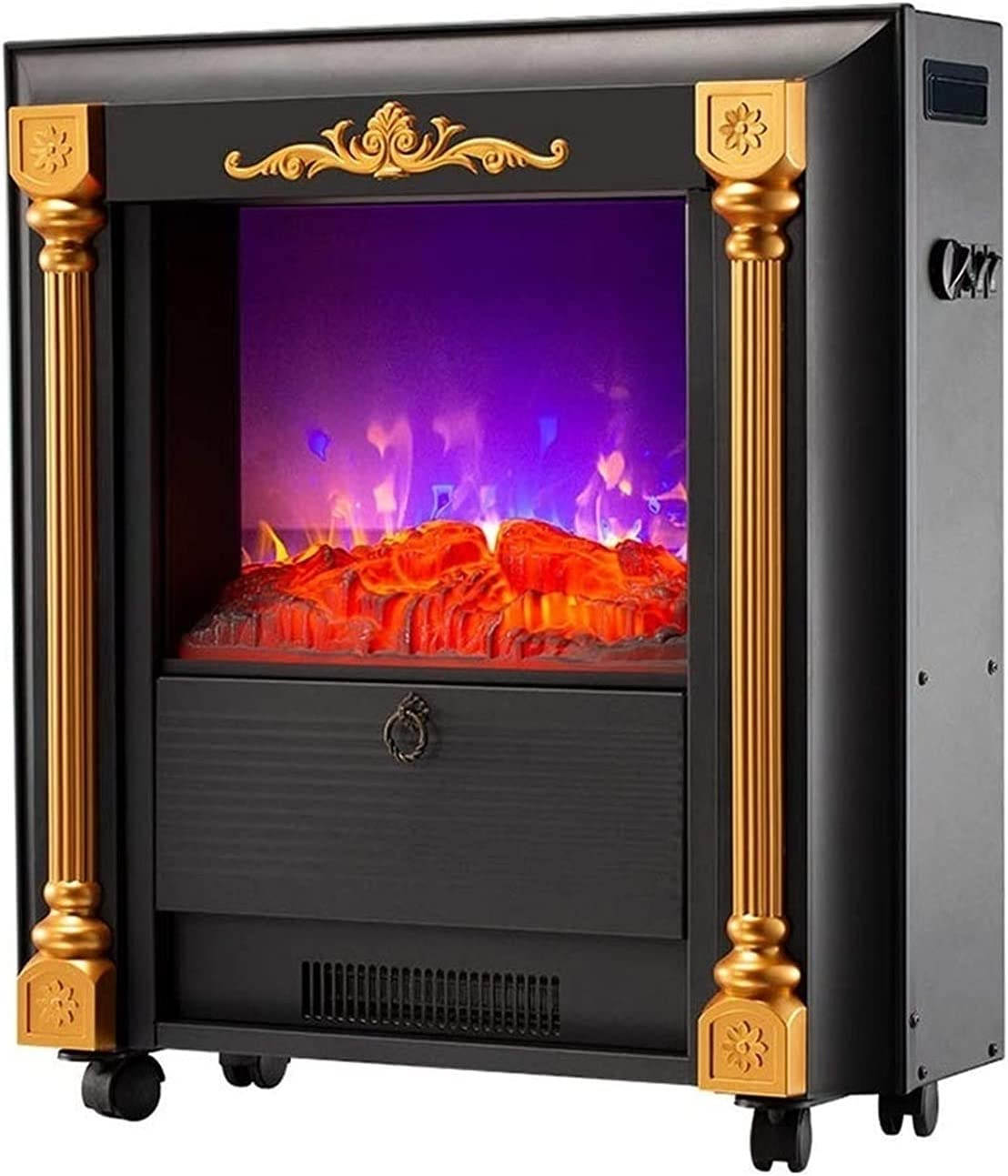 Fireplaces RENJUN- 2000W High Power Realistic Electric 3D Max Sale special price 47% OFF Flame