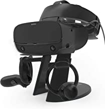 AFAITH VR Stand, VR Headset Display Stand with Game Controller Holder for Oculus Rift S/Oculus Quest/Rift Headset and Othe...