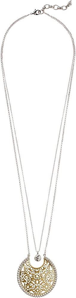 Lucky Brand - Openwork Double Layer Necklace