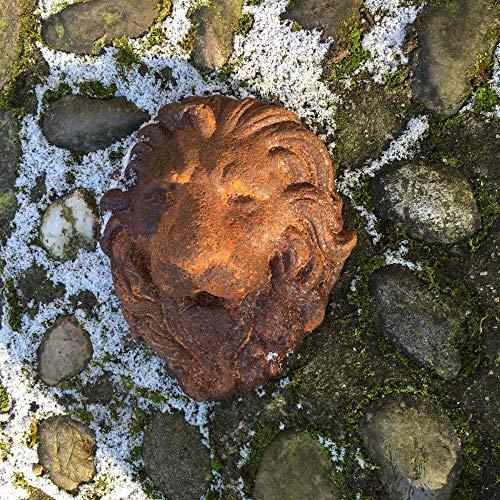 Antikas - Mediterraner Wasserablauf f. Brunnen - Brunnenauslauf, Wasserspeier - Löwenkopf
