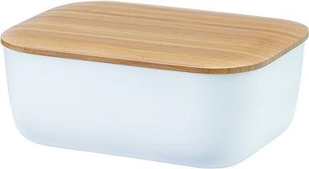 RIG-TIG Box-IT weiß Butterdose, Melamin, 15 x 12 x 7cm preisvergleich bei geschirr-verleih.eu