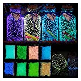 QXX Arena Luminosa de Navidad, decoración de acuarios Gravedad Luminosa Perlas, Adecuado for Celebraciones Familiares, Botella de Pared Decoración de Vidrio Pintura Luminosa Pintura de Arte
