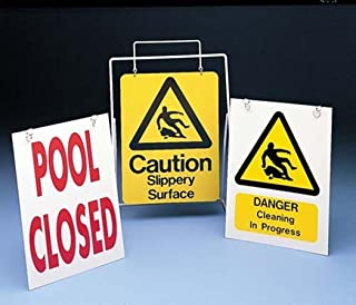 Cleaning In Progress Swimming Pool Caution Warning & Safety Wall Poster Sign