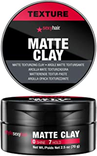 Sexy Hair Style Matte Clay Texturizing Clay for Men - 1.8 oz