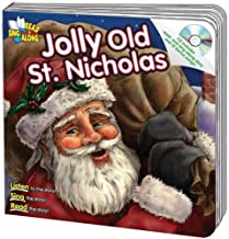 Jolly Old St. Nicholas Read & Sing Along Board Book With CD
