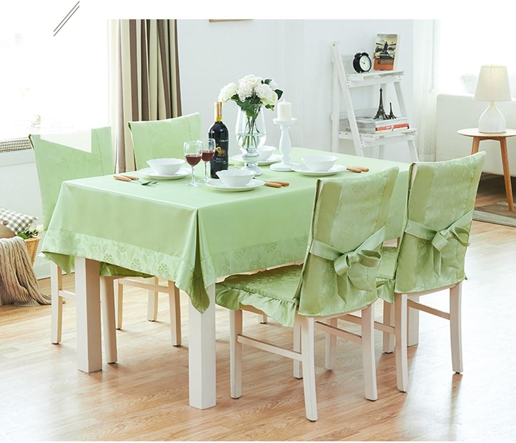 Nappe européenne Nappe Rectangulaire, Coton Salon de salon frais Tissu Table Tissu Table basse Petite table ronde Nappe ( Couleur     3 , taille   130180CM )