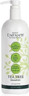 Bioken Enfanti Tea Tree Shampoo for All Hair Types (32 oz) - Color Safe, Sulfate, Paraben & DEA Free