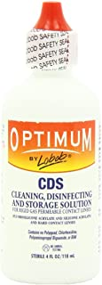 Optimum cleaning disinfecting storage solution by Lobob - 4 oz - Pack of Two