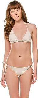 Becca by Rebecca Virtue Women's Color Code Halter Sliding Triangle Bikini Top
