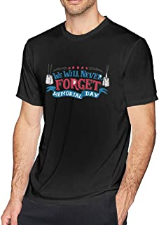 We Will Never Forget Memorial Day Special T-Shirt Black