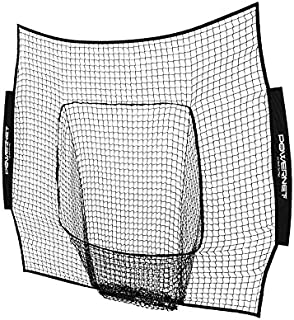 PowerNet Team Color Nets Baseball and Softball 7x7 Bow Style (NET ONLY) Replacement | Team Colors | Heavy Duty Knotless | ...