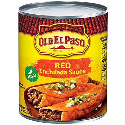 Old El Paso Enchilada Sauce, Mild, Red, 19 oz Can