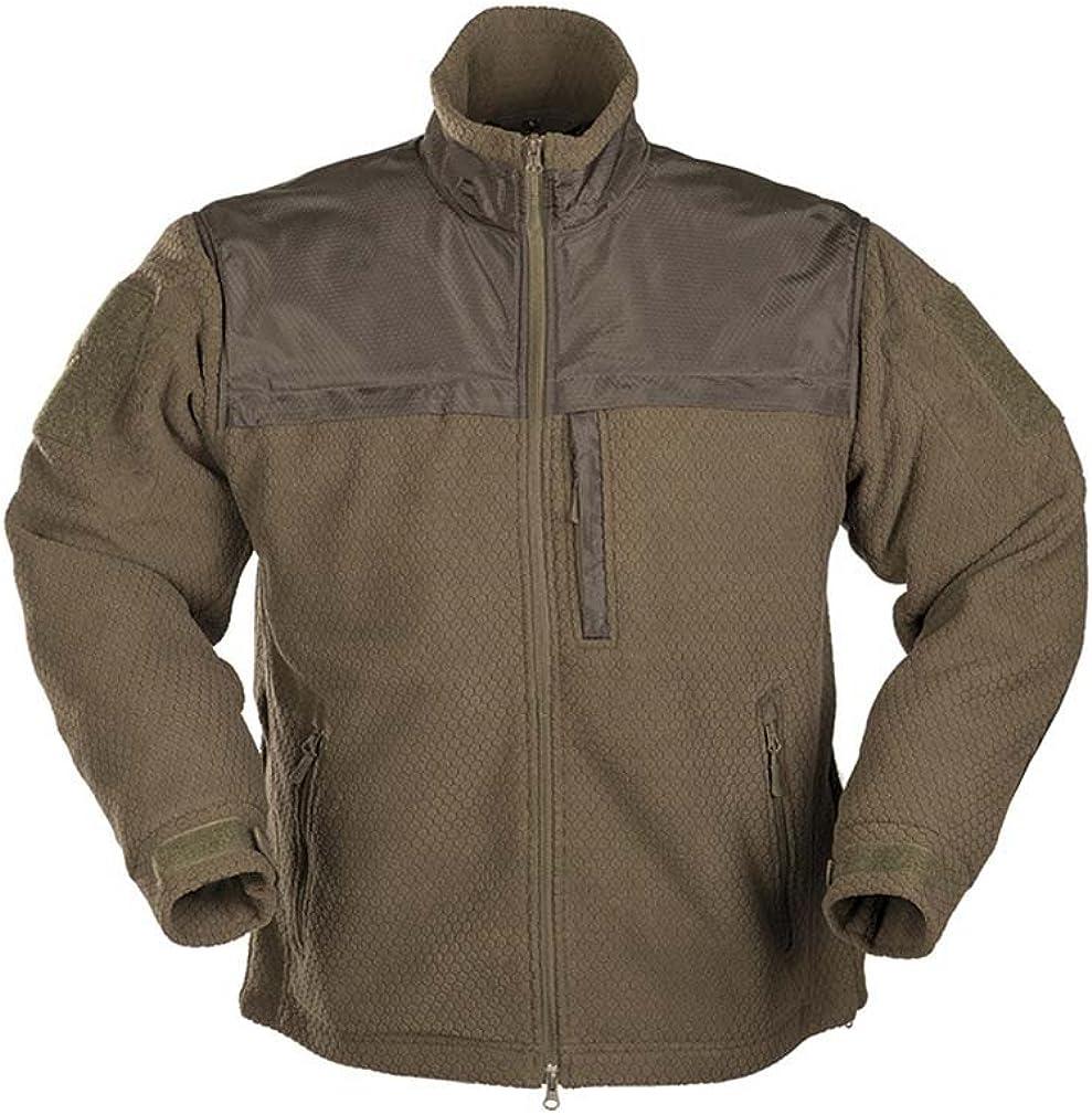 Mil-Tec Men's Elite Fleece Phoenix Mall Olive Import Jacket Hextac